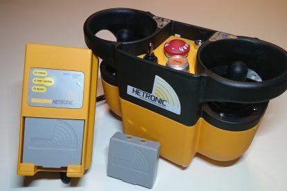 nova zender met batterij en batterijlader hetronic